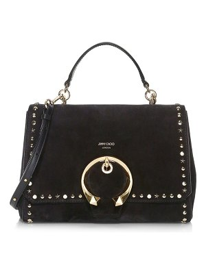 Jimmy Choo madeline studded top handle bag
