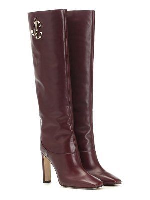 Jimmy Choo mahesa 100 leather boots