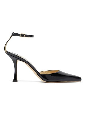 Jimmy Choo mair 90 point-toe patent-leather pumps