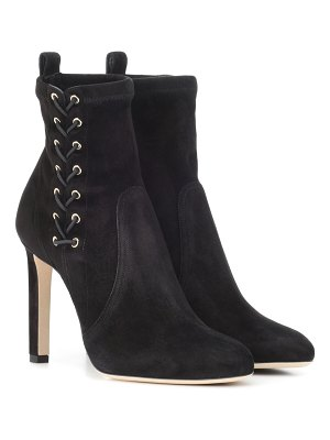 Jimmy Choo mallory 100 suede ankle boots