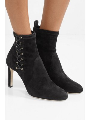 Jimmy Choo mallory 85 suede ankle boots