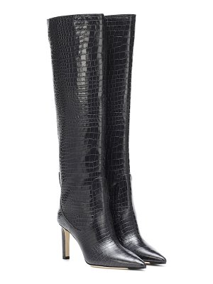 Jimmy Choo mavis 85 knee-high leather boots