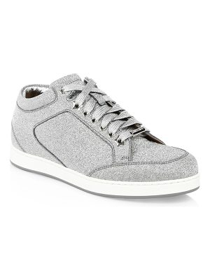 Jimmy Choo miami glitter sneakers