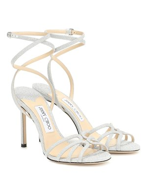 Jimmy Choo mimi 100 glitter sandals