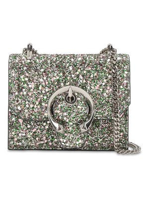 Jimmy Choo Mini paris glittered bag