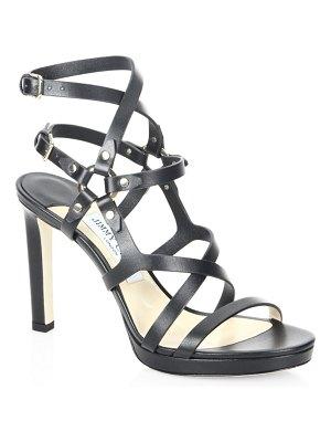 Jimmy Choo Monica Leather Sandals