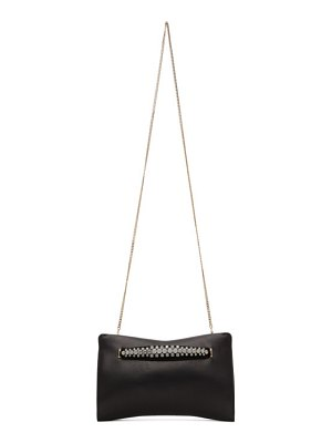 Jimmy Choo nappa venus jewel clutch