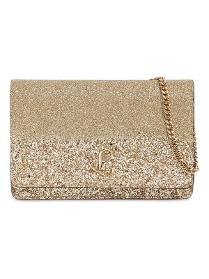 Jimmy Choo Palace glittered clutch