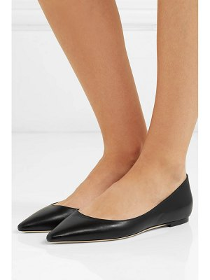 Jimmy Choo romy leather point-toe flats