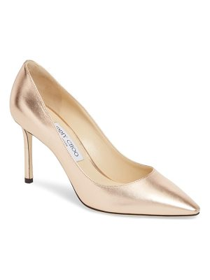 Jimmy Choo romy metallic pointy toe pump