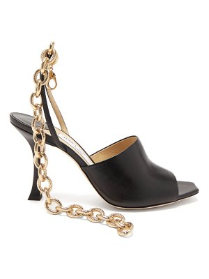 Jimmy Choo sae 90 chain-strap leather sandals