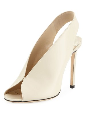 Jimmy Choo Shar Leather Slingback Sandals