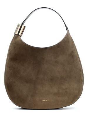 Jimmy Choo Stevie suede shoulder bag