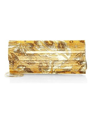 Jimmy Choo sweetie brocade acrylic clutch