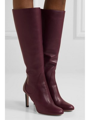 Jimmy Choo tempe 85 leather knee boots