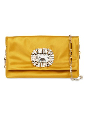 Jimmy Choo Titania silk satin clutch
