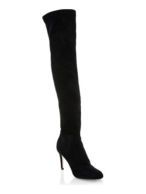 Jimmy Choo Toni 90 Velvet Over-The-Knee Boots