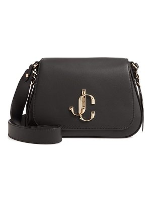 Jimmy Choo varenne leather shoulder bag