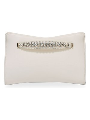 Jimmy Choo Venus Napa Leather Clutch