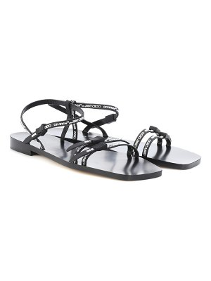 Jimmy Choo x off-white charlie leather sandals
