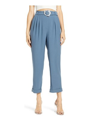 J.O.A. belted pants