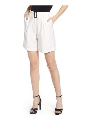J.O.A. belted shorts