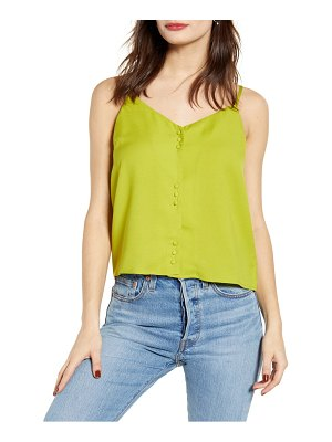 J.O.A. button front camisole