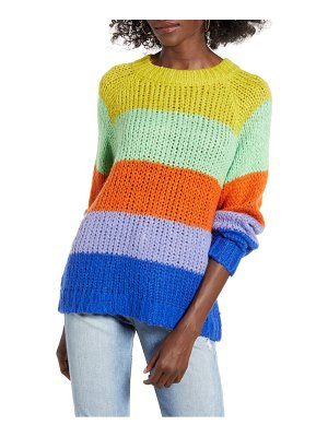 J.O.A. colorblock sweater