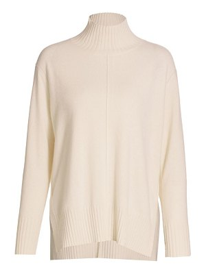 Joan Vass cashmere high-neck sweater