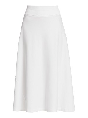 Joan Vass draped midi skirt