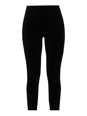 Joan Vass velour leggings