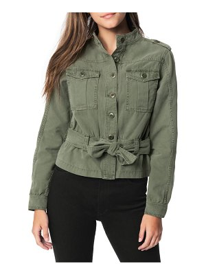Joe's belted canvas utility jacket