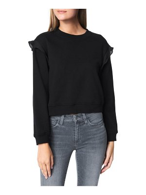 Joe's frill shoulder sweatshirt