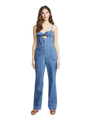 Joe's Jeans lucia denim jumpsuit