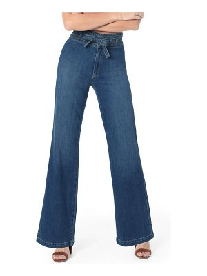 Joe's Jeans The High-Rise Flare Belted Jeans