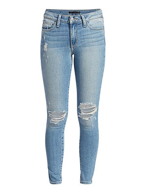Joe's Jeans icon mid-rise distressed ankle skinny jeans