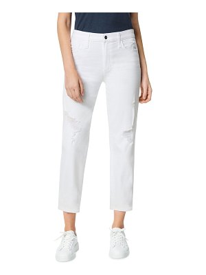 Joe's Jeans The Scout Mid-Rise Cropped Jeans with Button Placket