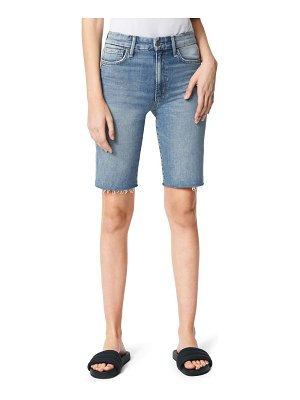 Joe's the bermuda high waist denim shorts