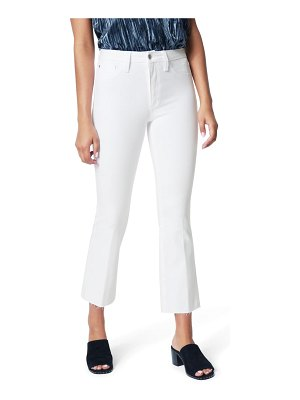 Joe's the hi honey high waist raw hem crop bootcut jeans