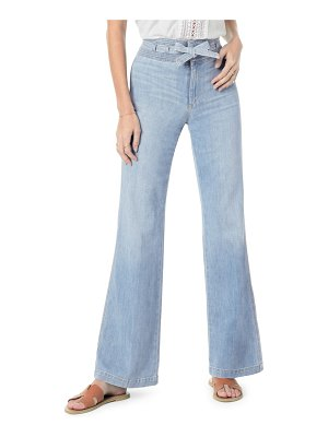Joe's the high rise belted flare jeans