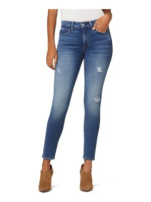Joe's the icon distressed ankle skinny jeans