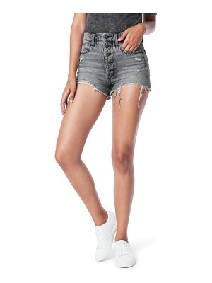 Joe's the kinsley high waist destroyed cutoff denim shorts