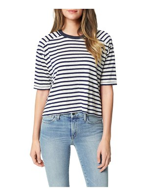 Joe's the stripe drop sleeve t-shirt