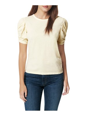 Joe's twisted sleeve cotton t-shirt
