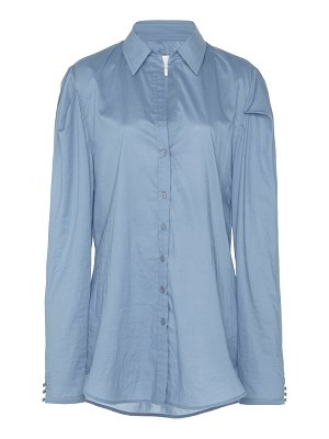 Johanna Ortiz debajo del mar button-up cotton shirt size: 0