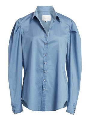 Johanna Ortiz debajo del mar puff sleeve button-down shirt