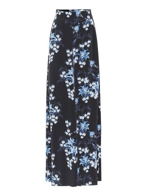 Johanna Ortiz dream state printed silk skirt