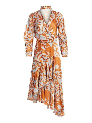 Johanna Ortiz floral wrap dress