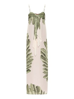 Johanna Ortiz Holy Earth silk slip dress