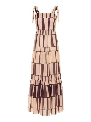 Johanna Ortiz printed cotton maxi dress